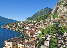 Limone sul Garda,Lake Garda Royalty Free Stock Photo