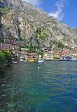 Limone sul Garda,Lake Garda,Italy Royalty Free Stock Images