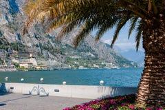 Limone sul Garda,Lake Lago di Garda, Stock Image