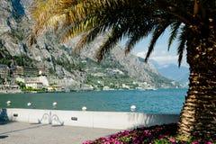 Limone sul Garda,Lake Lago di Garda, Royalty Free Stock Photos