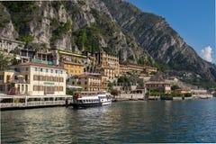 Limone-sul Garda - See Garda Stockbild