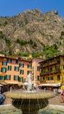 Limone sul Gardy krajobraz zdjęcia royalty free