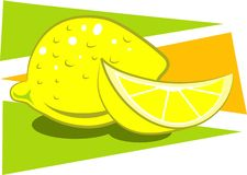Limones ilustración del vector