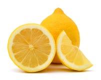 Limones amarillos Imágenes de archivo libres de regalías