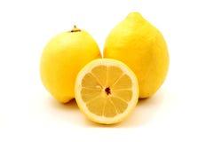 Limones de Eureka Imágenes de archivo libres de regalías