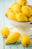 Limones frescos Foto de archivo libre de regalías