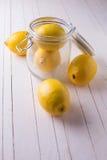 Limones frescos Imagenes de archivo