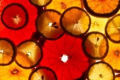 Limones, naranjas y cales Fotos de archivo libres de regalías