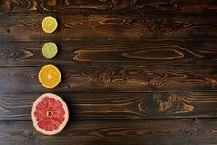 Limones, naranjas y cales Fotografía de archivo libre de regalías