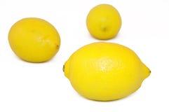 Limones sanos Imagen de archivo libre de regalías