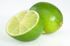Limones verdes Imagen de archivo libre de regalías
