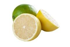 Limones y cal Fotos de archivo