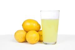 Limones y limonada Fotos de archivo