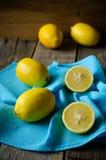Limoni gialli Immagini Stock