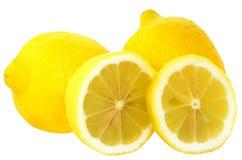 Limoni maturi freschi Immagini Stock Libere da Diritti