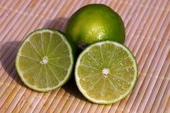 Limoni verdi Fotografia Stock