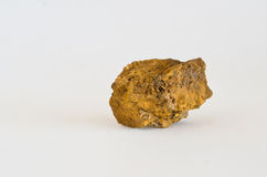 Limonite. Piece of limonite ore mined in Italy Royalty Free Stock Image
