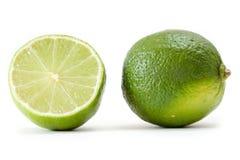 limonki tła white zdjęcie stock