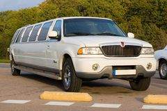 limousine Royaltyfri Foto