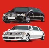 Limousine Royalty Free Stock Image