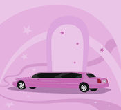 Limousine Royalty Free Stock Photos