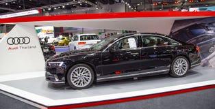 Limousine 2019 Audis A8 lizenzfreies stockbild