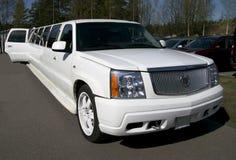 Limousine d'édition de Cadillac Escalade la Californie Photographie stock