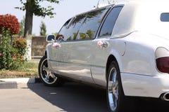 Limousine de mariage Photo stock