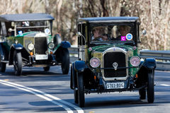 Limousine 1926 des Rugby-R Stockfotos