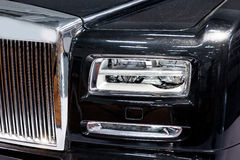 Limousine details Royalty Free Stock Photography