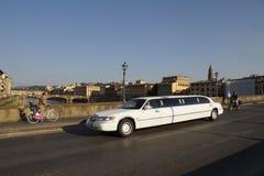 Limousine - Florence royalty-vrije stock afbeeldingen