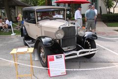 Limousine 1929 Hupmobile-Jahrhundert-sechs Lizenzfreies Stockbild