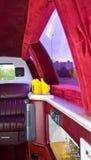 Limousine-Innenraum stockbilder