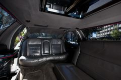 Limousine Interior Stock Photos