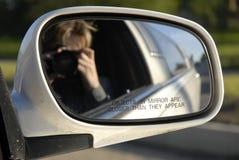 Limousine mirror Stock Image