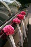 Limousine nere di cerimonia nuziale Fotografia Stock Libera da Diritti