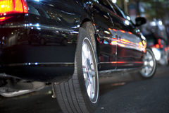 Limousine noire Images stock