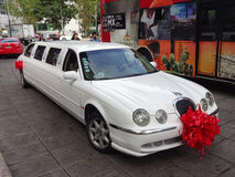 Limousine for the Quinceanera Royalty Free Stock Photography
