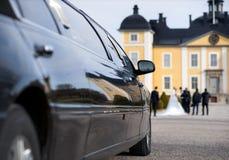 Limousine am Säubern Stockfotos