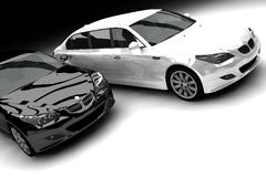 Limousines Royalty Free Stock Image