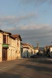 Limoux-Dorf, Frankreich lizenzfreies stockfoto