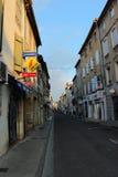 Limoux-Dorf, Frankreich lizenzfreie stockfotos