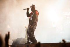 Limp συναυλία Bizkit στοκ εικόνα με δικαίωμα ελεύθερης χρήσης