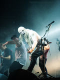 Limp Bizkit concert Stock Image