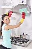 Limpando a casa fotos de stock royalty free