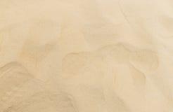 Limpe a areia fina para a superfície do campo de jogos das crianças para a textura Fotografia de Stock Royalty Free
