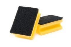 Limpe a esponja Foto de Stock