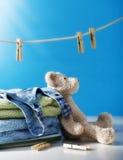 Limpe a lavanderia Fotos de Stock Royalty Free