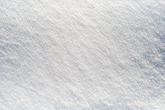 Limpe a neve - fundo branco da neve imagens de stock royalty free