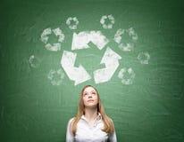 Limpe o ambiente Foto de Stock Royalty Free